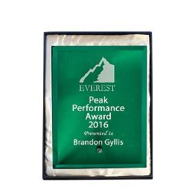 Glass Award 1270-2GN - Trophy Land
