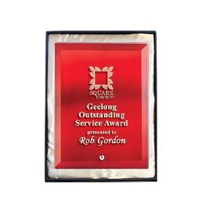 Glass Award 1270-2R - Trophy Land