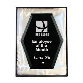 Glass Award 1271-3BK - Trophy Land