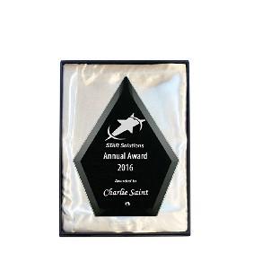 Glass Award 1272-1BK - Trophy Land