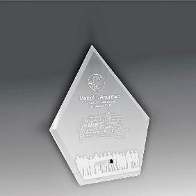 Glass Award 1272-1CL - Trophy Land