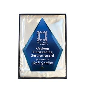 Glass Award 1272-2BU - Trophy Land