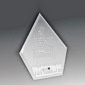 Glass Award 1272-2CL - Trophy Land