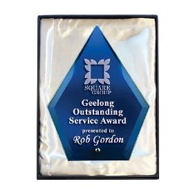 Glass Award 1272-3BU - Trophy Land