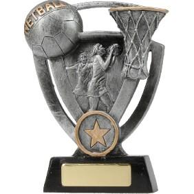 Netball Trophy 12737L - Trophy Land