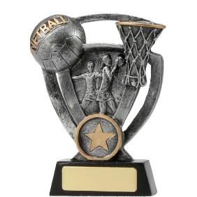 Netball Trophy 12737M - Trophy Land