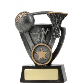 Netball Trophy 12737S - Trophy Land