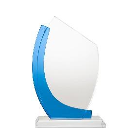 Glass Award 1277-3C - Trophy Land