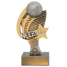 Netball Trophy 12837B - Trophy Land