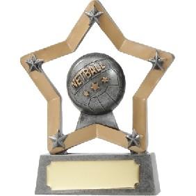 Netball Trophy 12911 - Trophy Land