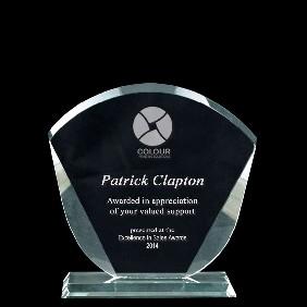 Glass Award 1332-1 - Trophy Land
