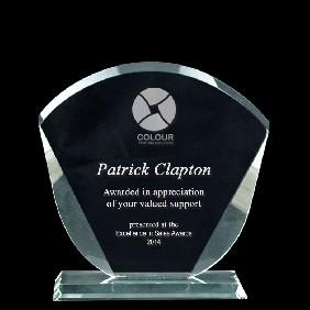 Glass Award 1332-2 - Trophy Land