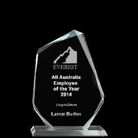 Glass Award 1333-1 - Trophy Land