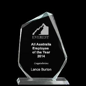 Glass Award 1333-2 - Trophy Land