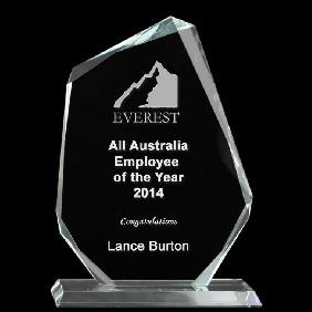 Glass Award 1333-3 - Trophy Land