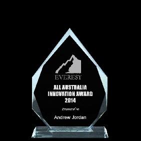 Glass Award 1334-1 - Trophy Land