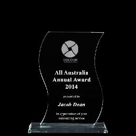 Glass Award 1335-1 - Trophy Land