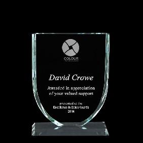 Glass Award 1339-1 - Trophy Land