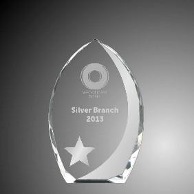 Embellished Awards 1363-3-VS - Trophy Land