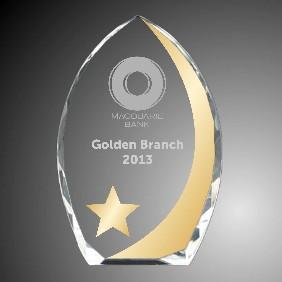 Embellished Awards 1363-4-VG - Trophy Land