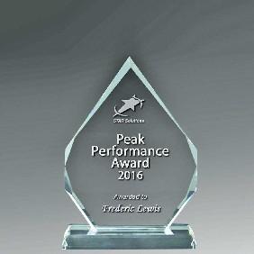 Crystal Award 1364-1 - Trophy Land