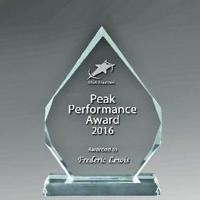 Crystal Award 1364-2 - Trophy Land