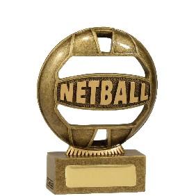 Netball Trophy 13937AA - Trophy Land