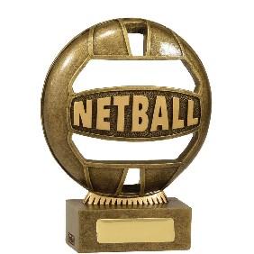 Netball Trophy 13937A - Trophy Land