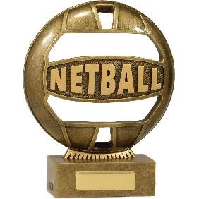 Netball Trophy 13937B - Trophy Land