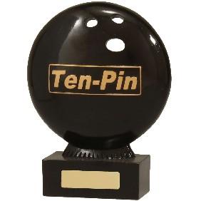 Ten Pin Bowling Trophy 13953B - Trophy Land