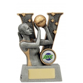 Netball Trophy 21491AA - Trophy Land