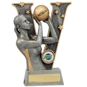Netball Trophy 21491B - Trophy Land