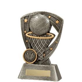 Netball Trophy 23537A - Trophy Land