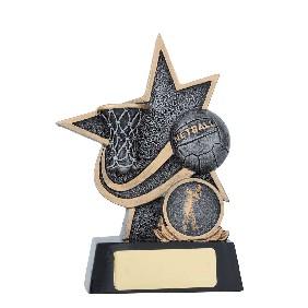 Netball Trophy 25137A - Trophy Land