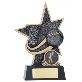 Netball Trophy 25137B - Trophy Land