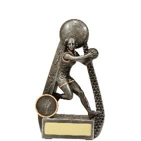 Netball Trophy 28091A - Trophy Land