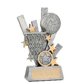 Netball Trophy 28391A - Trophy Land
