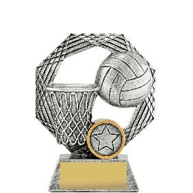Netball Trophy 29337A - Trophy Land