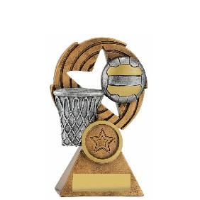 Netball Trophy 29637A - Trophy Land