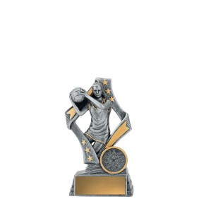 Netball Trophy 29791A - Trophy Land