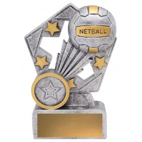 Netball Trophy 29837 - Trophy Land