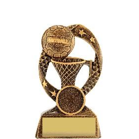 Netball Trophy 30037A - Trophy Land