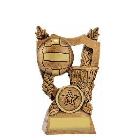 Netball Trophy 30437A - Trophy Land