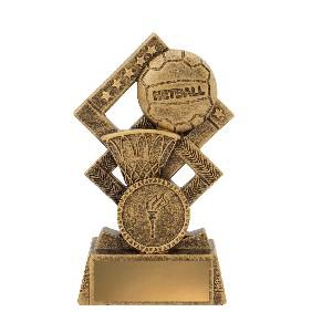 Netball Trophy 30537A - Trophy Land