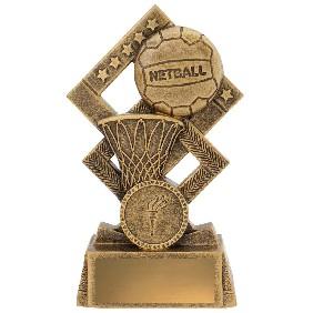 Netball Trophy 30537B - Trophy Land