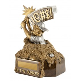 Golf Trophy 318-BUNKER - Trophy Land