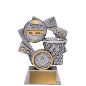 Netball Trophy 32237A - Trophy Land