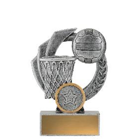 Netball Trophy 32537A - Trophy Land