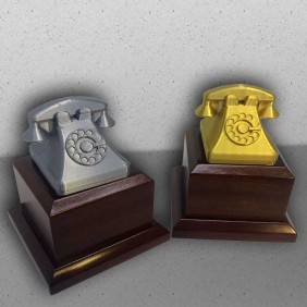 D Print Gallery 3D Telephone Trophies - Trophy Land