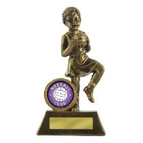 Netball Trophy 601G-8 - Trophy Land
